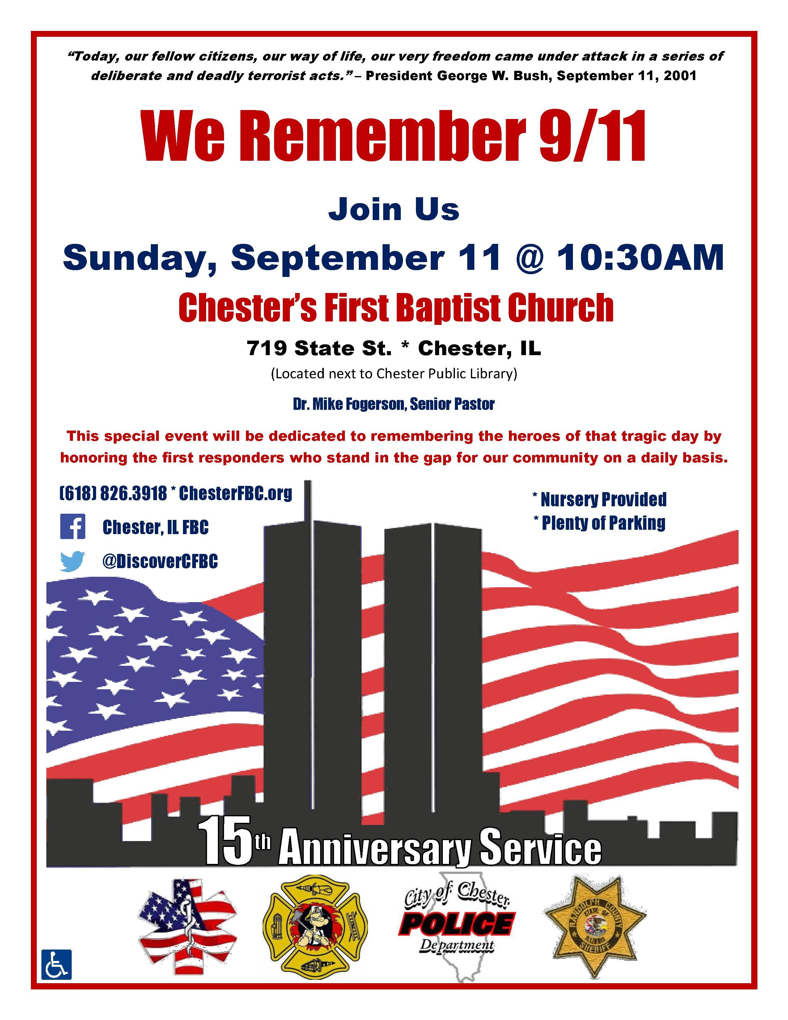 9.11 flyer